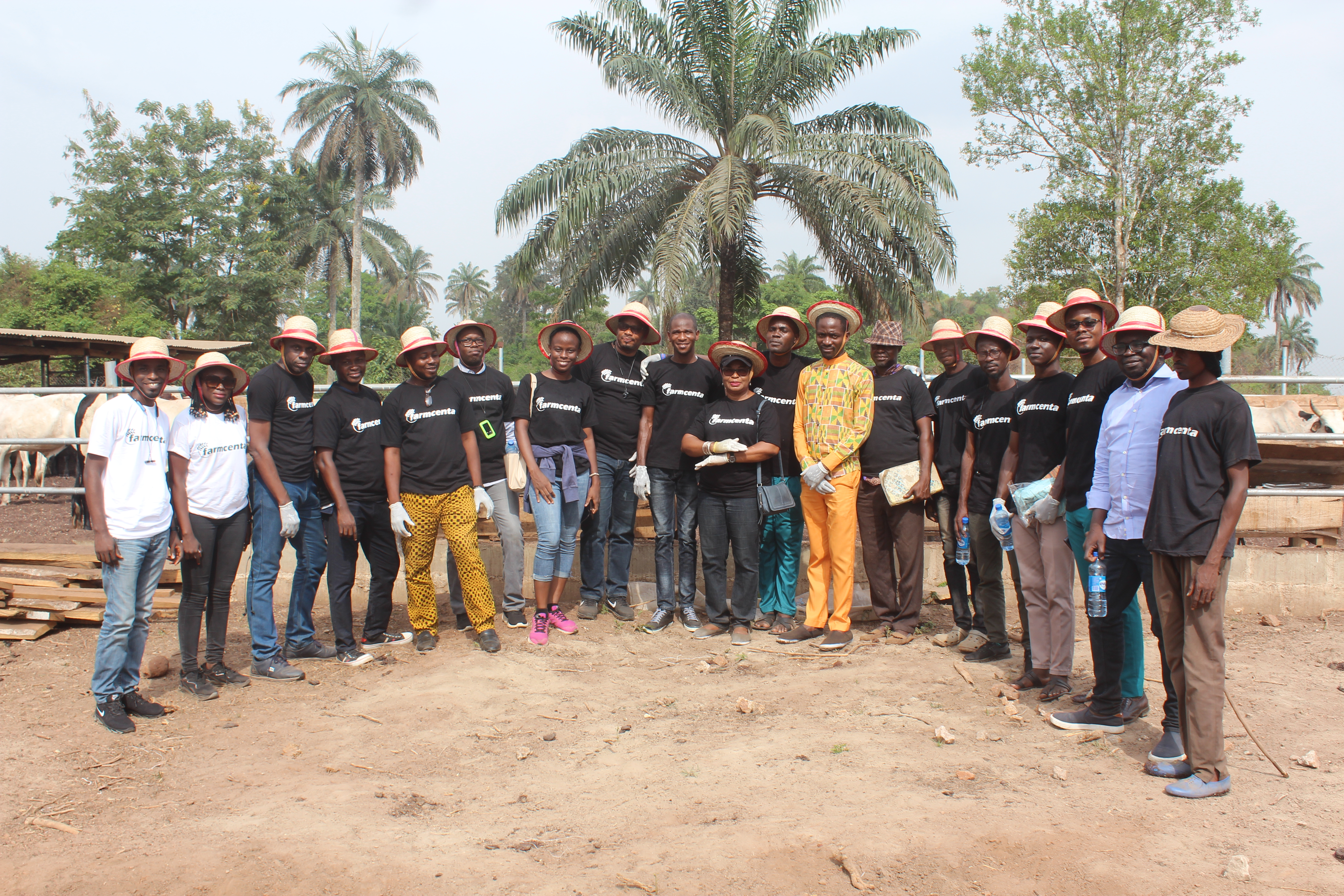 Farmcenta Takes Her Investors To Visit Their Cattle Ranch in Fiditi, Oyo State