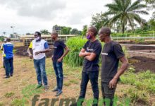 officials from Meat Embassy discuss business opportunities with Farmcenta team members