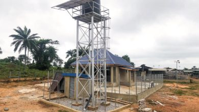 milk collection point under construction